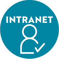 Newsletter RH - Icône INTRANET