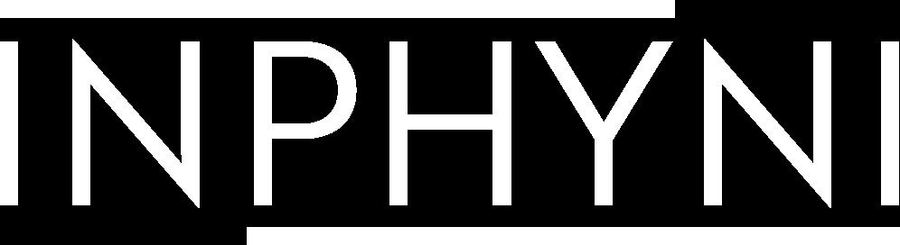 INPHYNI - logo blanc