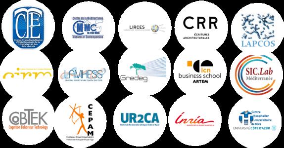 Les partenaires du projet XR2C2